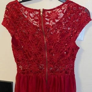 Red Charlotte Russe Dress